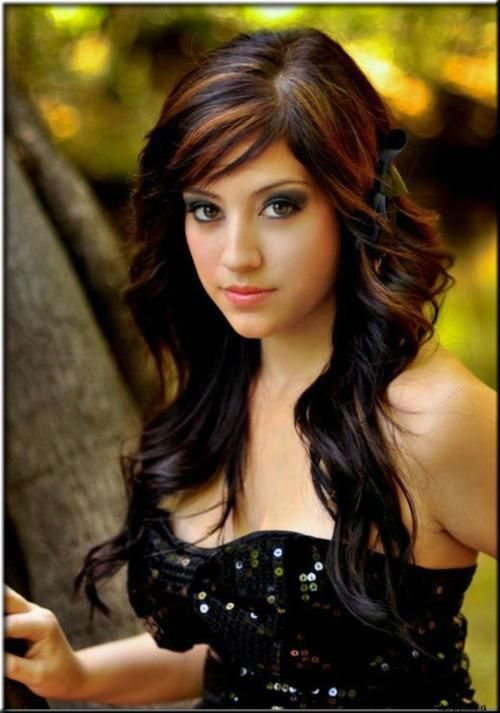 452 best hair highlights images on pinterest hairstyles rose black hair highlights pmusecretfo Images