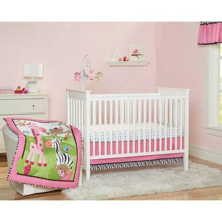Garanimals Wild Life 3 Piece Crib Bedding Set Naehen