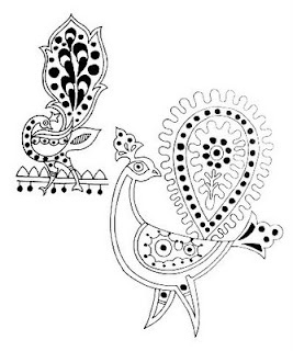 embroidery designs from India