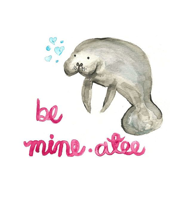 Be Mineatee by nerdcards on Etsy