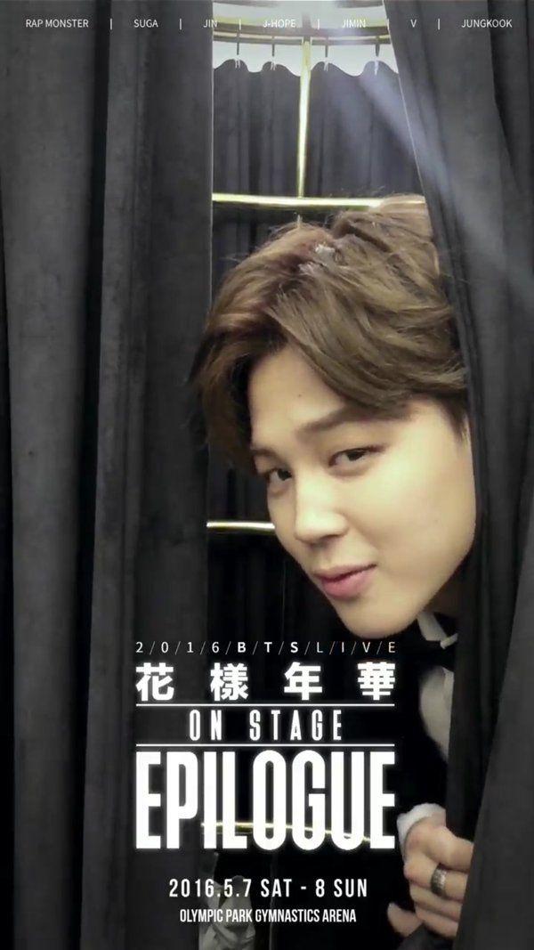 pinterest    ☽ @kellylovesosa ☾#Jimin 2016 #BTS Live On Stage Epilogue.