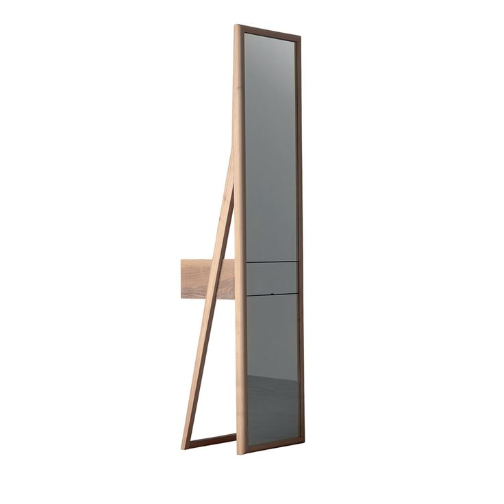 version of a bedroom mirror with vanity table for the piece maderae chose italian walnut wood traditional woodworking techniques and a design based