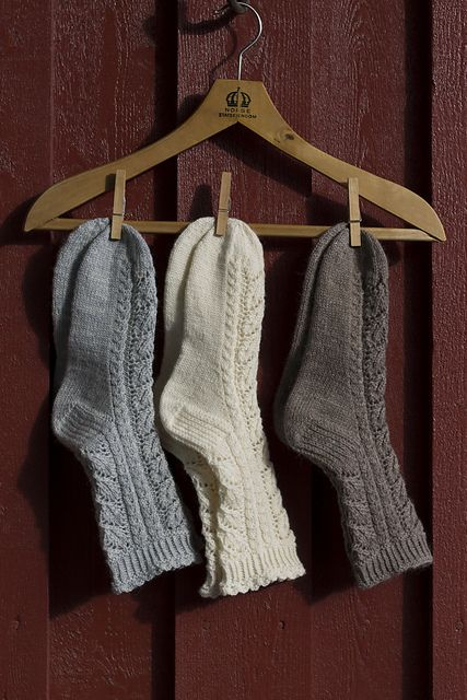 Ravelry: Fine Blondesokker pattern by Wenche Roald. Knitted sock pattern available for purchase.
