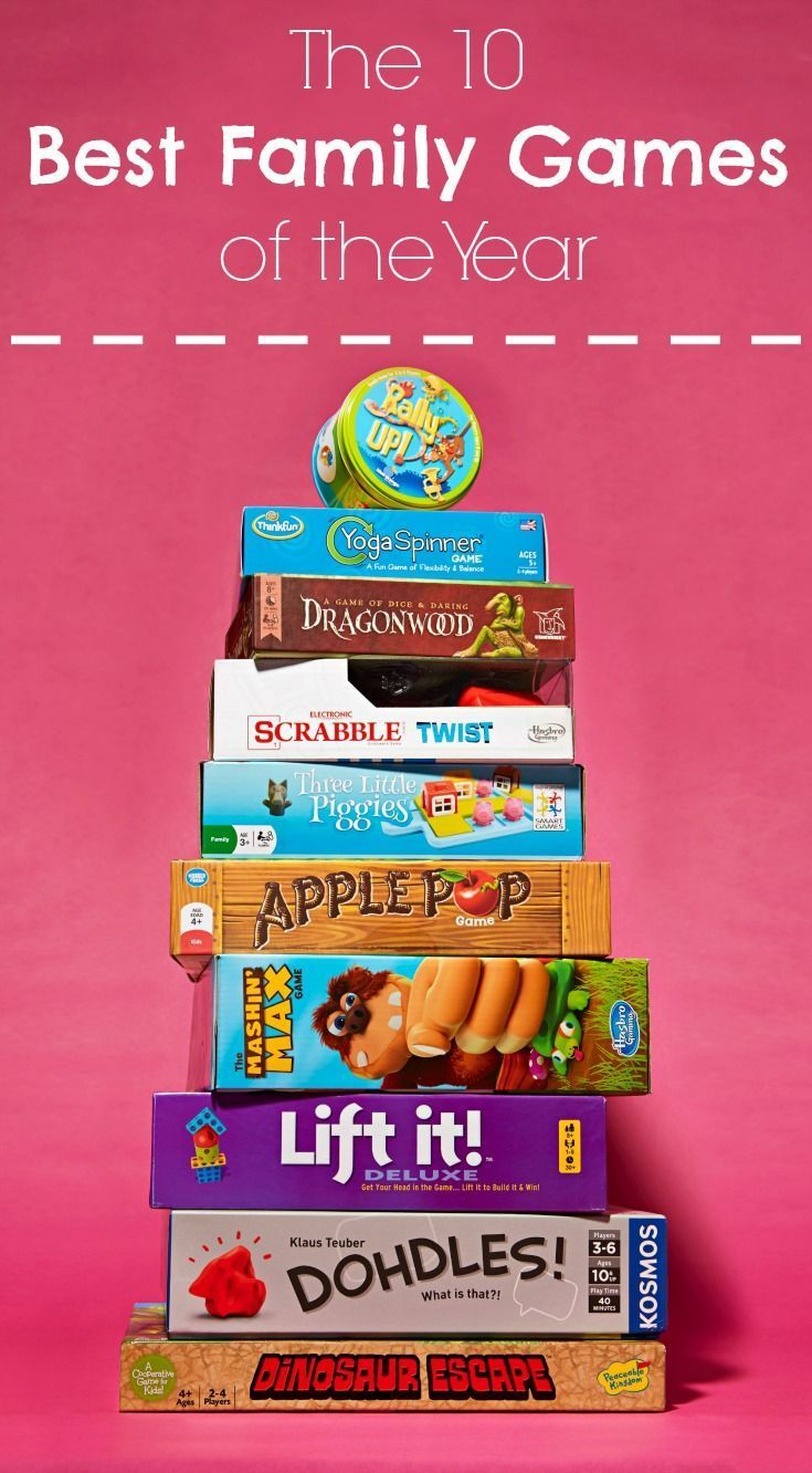 10 Best Family Games of 2016! Awesome games for family game night, rainy day activities, or for some summer fun!