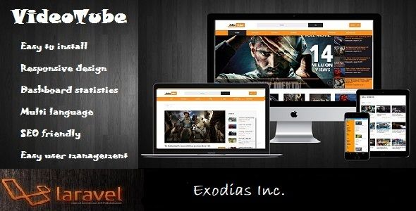 Video Tube Nulled | Nulled Wordpress Themes | Script