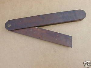 Vintage-12-Wooden-Carpenters-Angle-Bevel