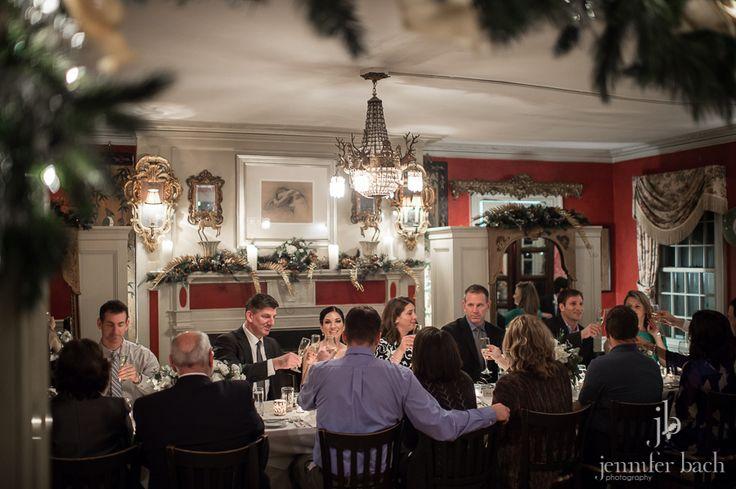 Rachel & Ken's cozy winter wedding at the Bee & Thistle Inn