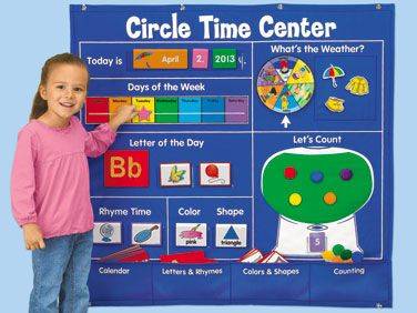 Circle Time Learning Center at Lakeshore Learning.. FYI if I get a kindergarten teaching job I WANT THIS!