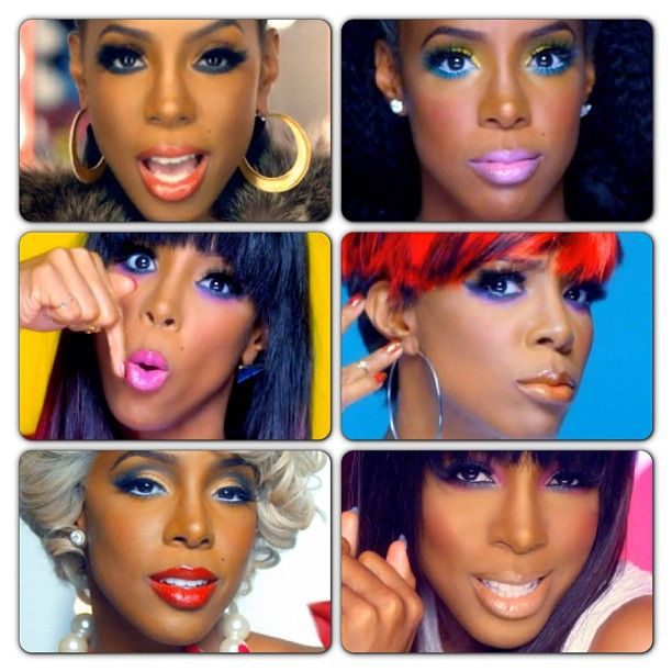 kelly rowland Kisses Down Low  makeup