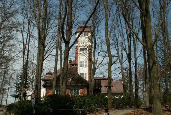 Doubská Mountain, St. Linhart (609 m above the sea level) | Karlovy Vary – průvodce, hotely, lázně, wellness, webkamera ...