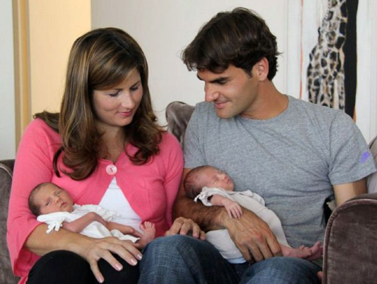 Federer twins-childhood-marriage-curiosities about roger federer #baselshows