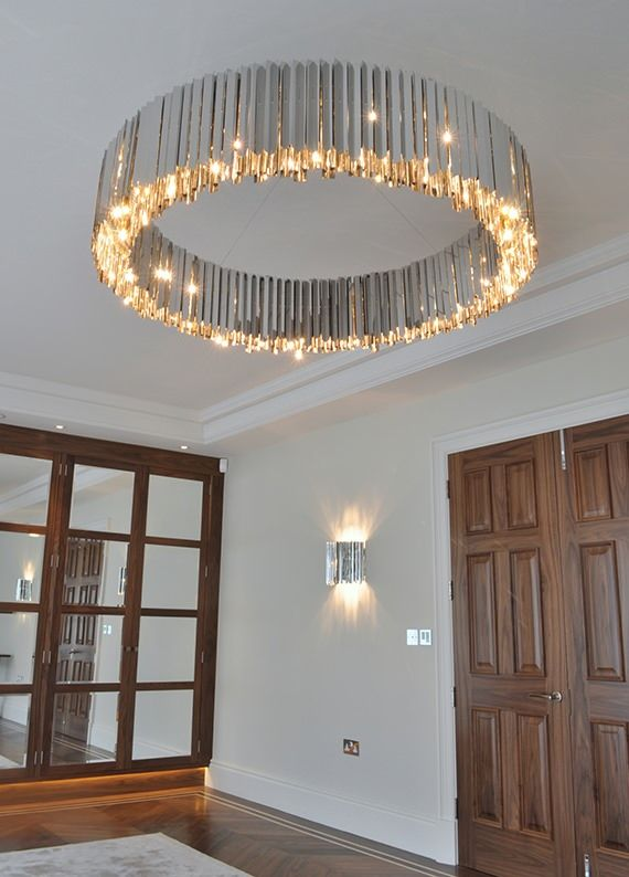 Facet Chandelier 1300mm | Contemporary Lighting Project