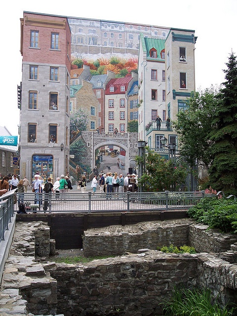 1000 ideas about quebec city on pinterest quebec for Mural quebec city