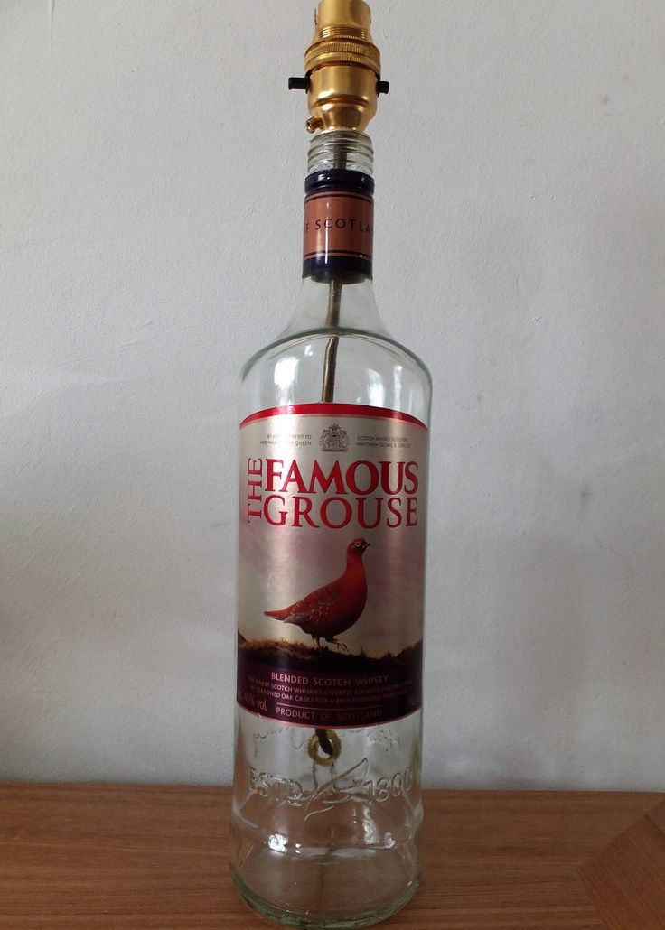 A personal favourite from my Etsy shop https://www.etsy.com/uk/listing/508671264/famous-grouse-whisky-1l-upcycled-spirit