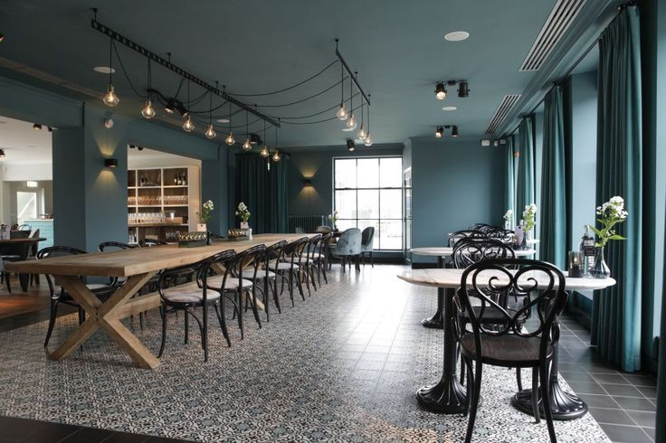 Cement tiles - Project Restaurant Mirabelle - Cafe - Restaurant