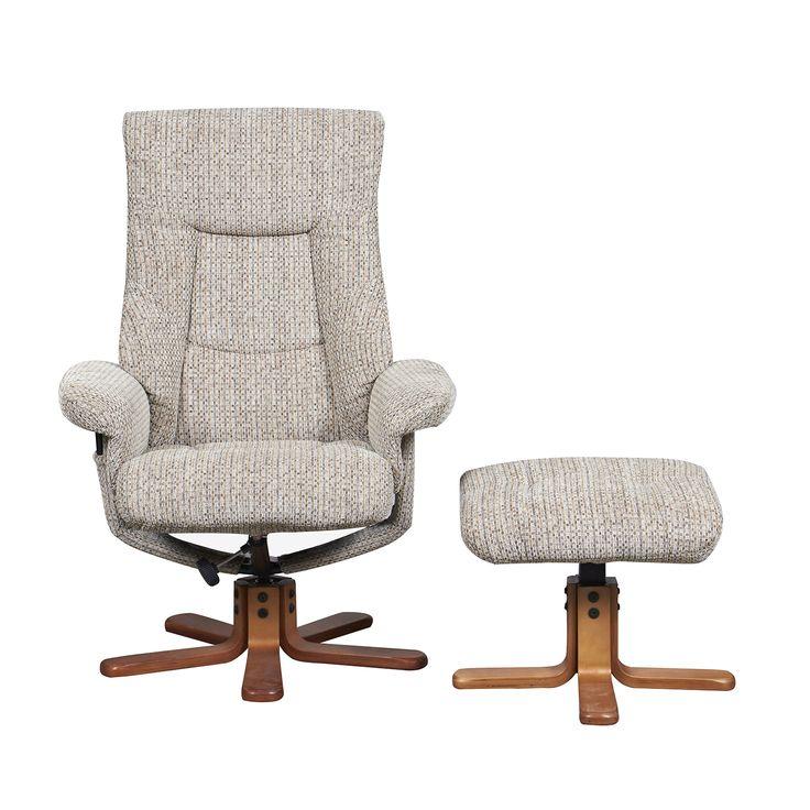 Tokyo Reclining Massage Chair Mocha | The Range
