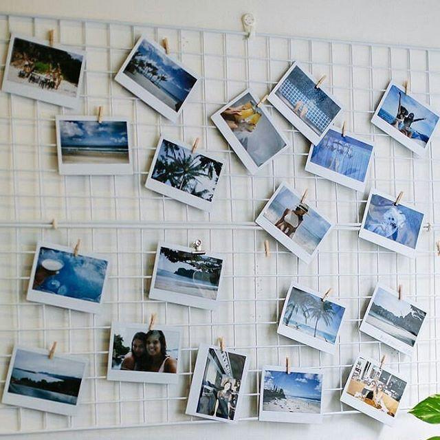 Grades são um jeito simples de fazer um painel de fotos