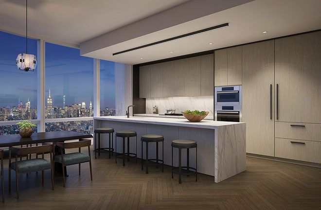 Tribeca's 800-Foot Condo Tower Reveals Interiors, Pricing - Rendering Reveals - Curbed NY