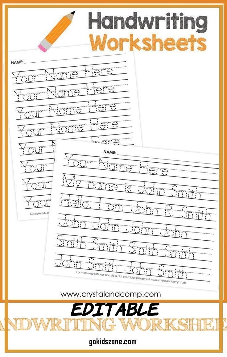 Editable Handwriting Worksheets Handwriting Worksheets For Kids You Can Customize And In 2021 Handwriting Worksheets For Kids Handwriting Worksheets Writing Worksheets [ 1157 x 736 Pixel ]