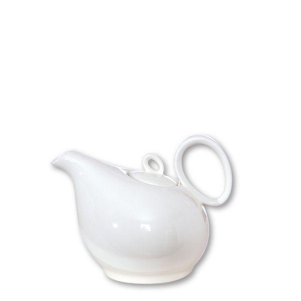 Théière porcelaine Teo blanc 35 cl