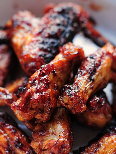 Sweet and Spicy Grilled Chicken Wings –- A lighter version of chicken wings with all the flavor. Perfect for game time!