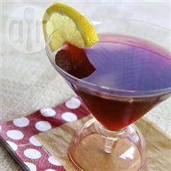 Cocktail vodka jus de grenade @ allrecipes.fr