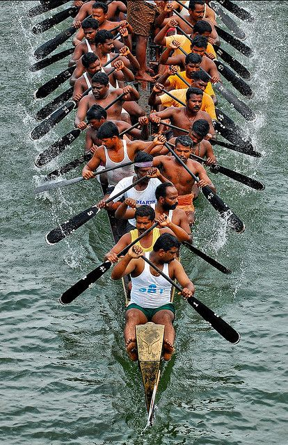 Kottapuram Boat Race, Kerala India