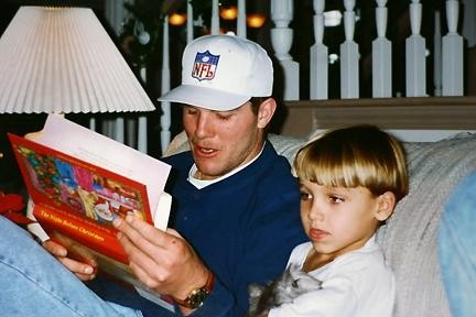 """Steve Mariucci - """"Brett Favre used to babysit my kids! How about that?! Green Bay Packers in 1993"""""""
