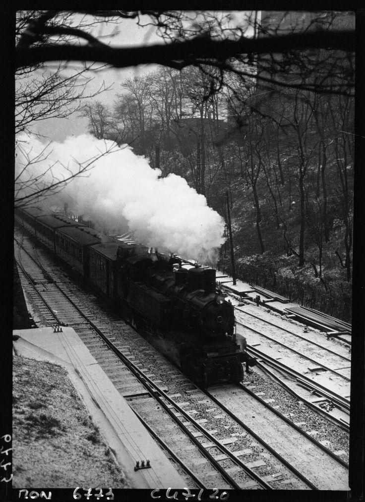 Petite ceinture buttes chaumont 1933 jms - Chemin de fer de Petite Ceinture - Wikipedia