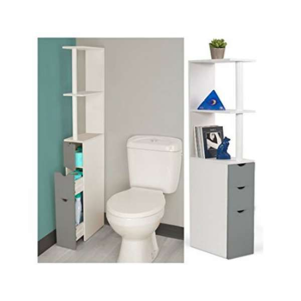 1000 ideas about meuble wc on pinterest meuble for Meuble rangement wc