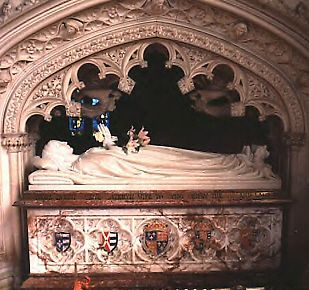 Katharine Parr is buried at St. Marys Chapel on the grounds of Sudeley Castle. (I have seen all six wives burial places)