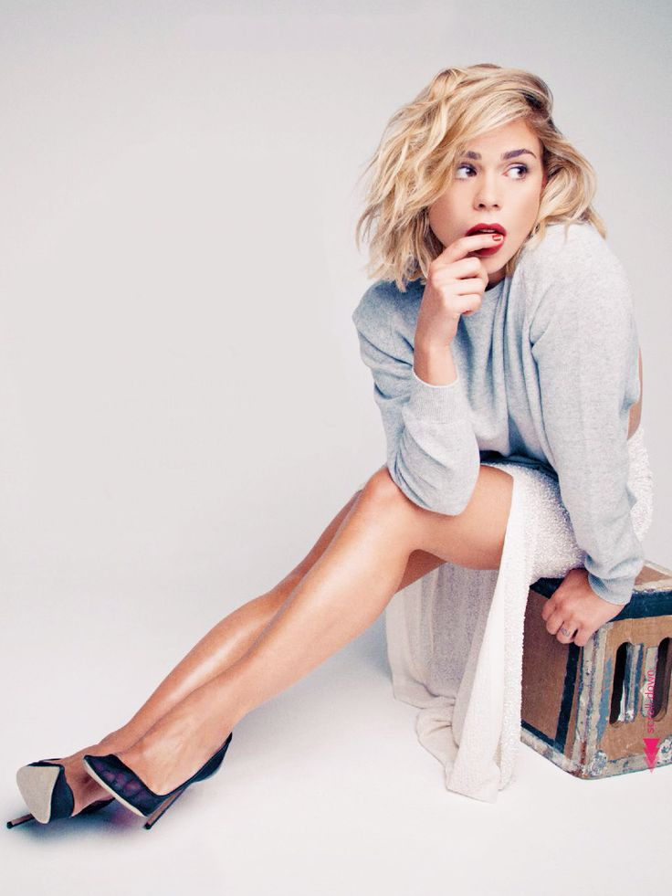 billie piper | glamour magazine uk | july 2014 absolutely in love with the side part