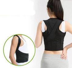 POSTURE-CORRECTOR-Lumbar-Support-Belt-Round-Shoulder-Back-Brace-Scoliosis