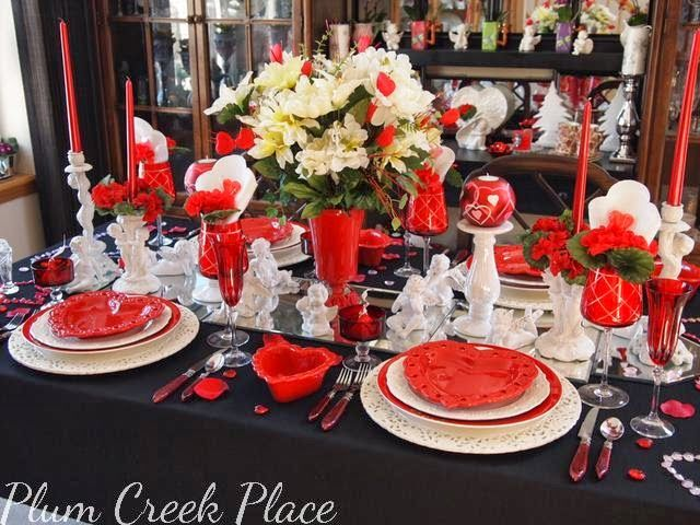Incroyable Valentineu0027s Day Tablescape