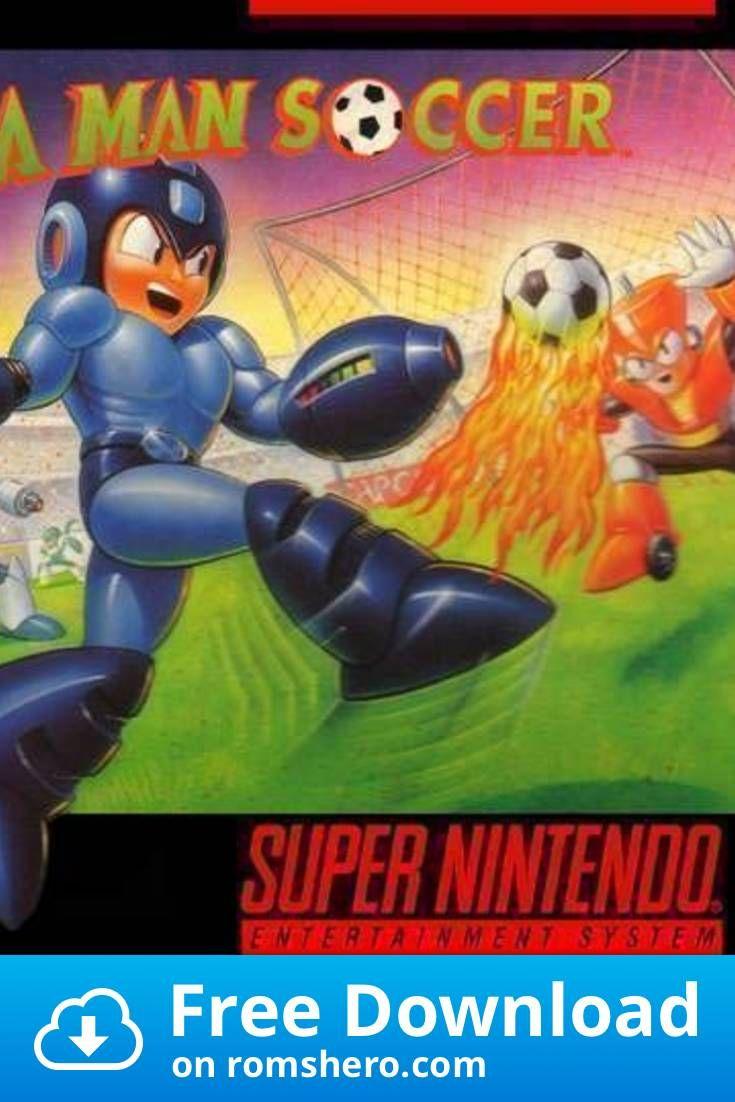 Download Mega Man S Soccer Super Nintendo Snes Rom In 2020