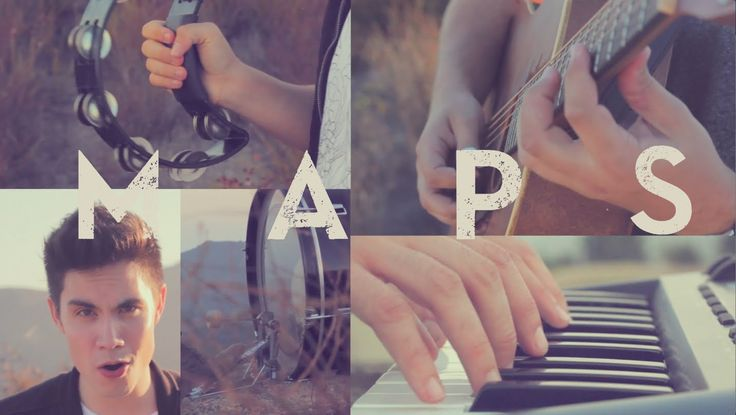 Maps (Maroon 5) - Sam Tsui & Jason Pitts Cover