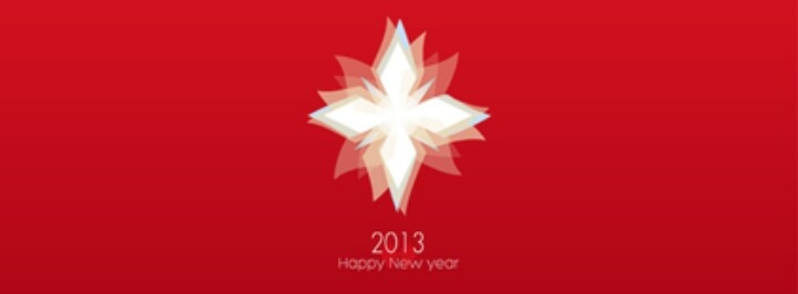 WINGS TEAM CARD 2013 New year's cover design