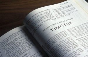 "Does St. Paul teach ""Sola Scriptura"" in 2 Timothy 3:16-17? No, I list five reasons why that isn't possible."