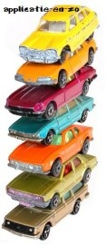 Applicatie full colour stapel auto's
