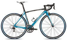 Torpado bici corsa celeste 10v carbonio taglia 52 nero azzurro strada
