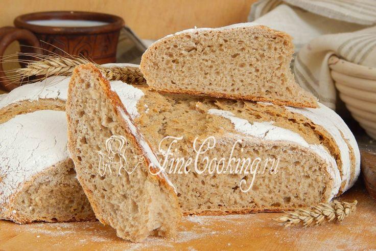 Рецепт пшенично-ржаного хлеба на закваске