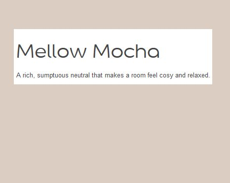 Wall Colour Dulux Mellow Mocha Marie Home Makeover