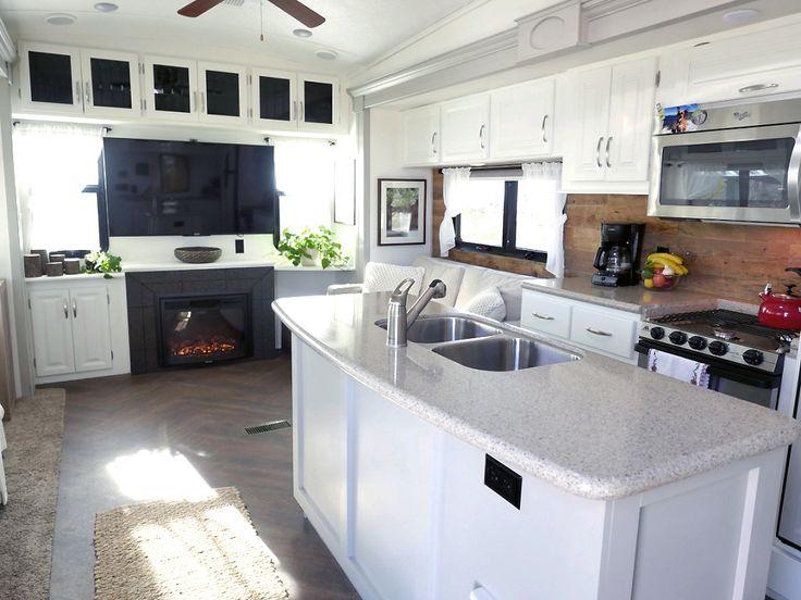 RV Renovation Living Area                                                                                                                                                                                 More