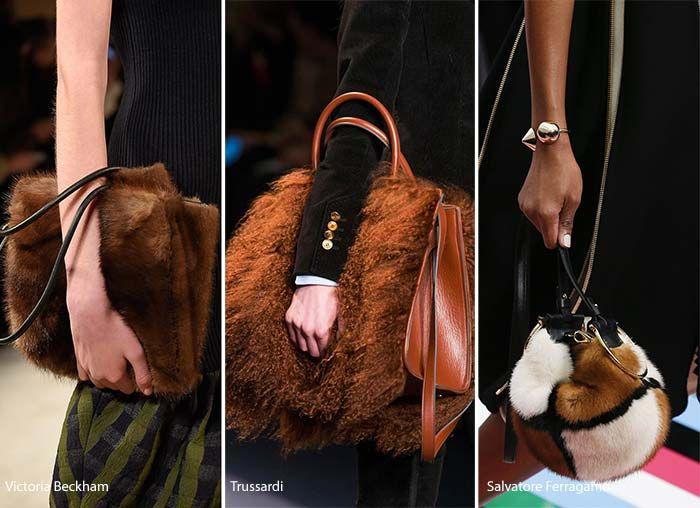Fall/ Winter 2016-2017 Handbag Trends: Fur Bags