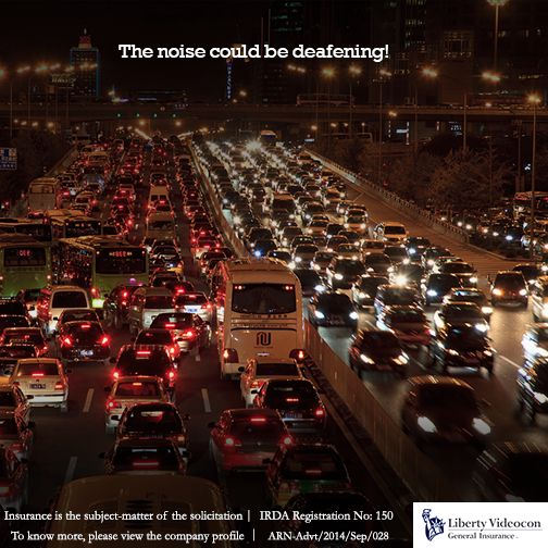 #DidYouKnow busy urban streets can produce as much as 145 db of noise by way of honking? This is dangerous, #HornNotOKPlease