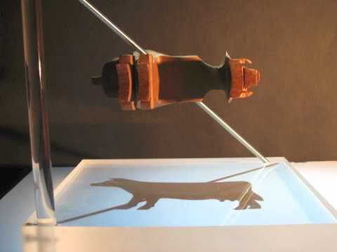 We could do this!    http://technabob.com/blog/2012/03/08/multi-perspective-shadow-sculptures/