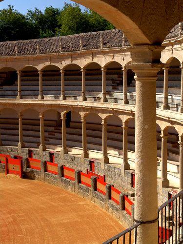 Plaza de toros de Ronda, Málaga.