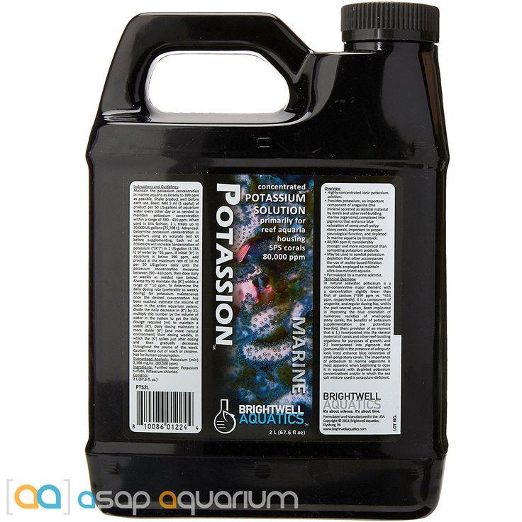 Brightwell Aquatics Potassion 2 Liters Concentrated Liquid Potassium for SPS Coral