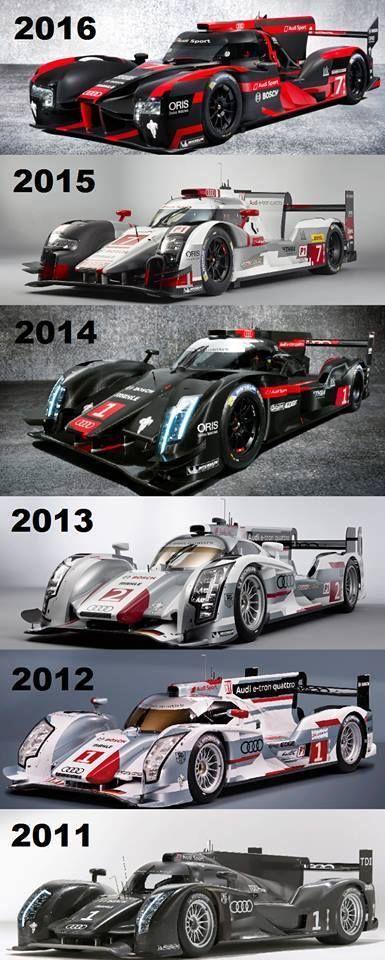 Evolution Audi R18