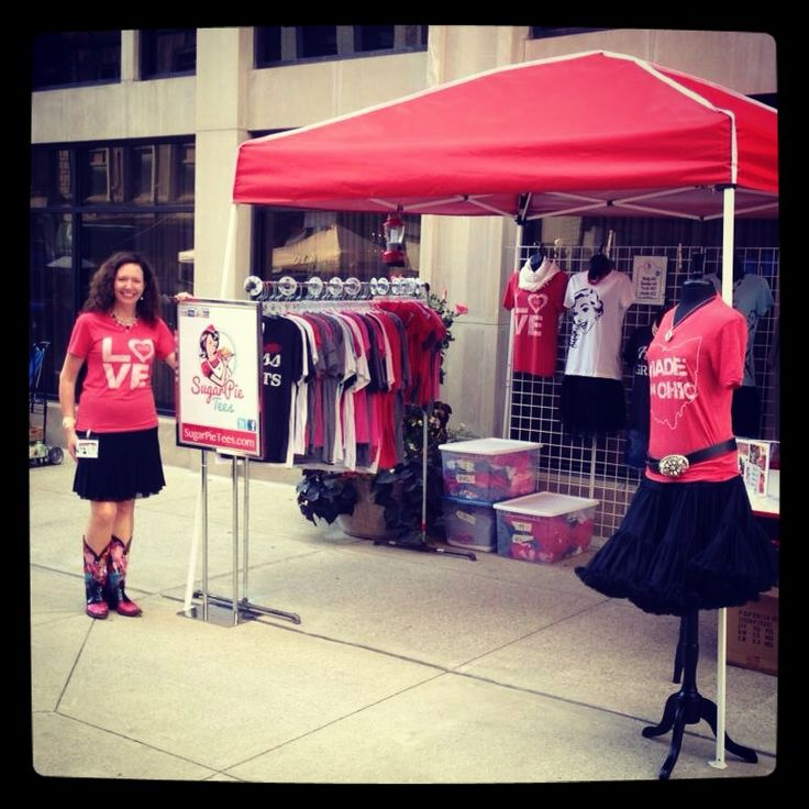 15 best images about t shirt business on pinterest for Portable t shirt display